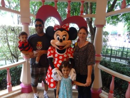 Photograph with Minnie