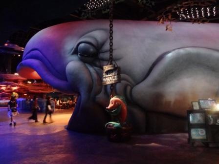 Giant Whale Shop at Mermaid Lagoon